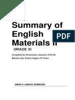 Essential English Materials II
