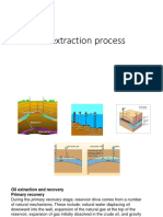 Oil extraction process