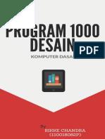 Program 1000 Desain