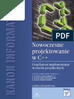 62092175-Nowoczesne-projektowanie-w-C-Uogolnione-implementacje-wzorcow-projektowych.pdf