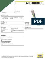 Fiber Datasheets HFCH Series