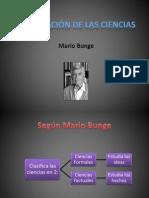 Clasificación de las Ciencias (Mario Bunge)