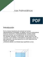 mecanica de fluidos hidrostaticas