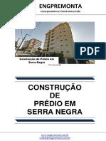 Construção de Prédio Em Serra Negra