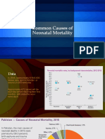 Common Causes of Neonatal Mortality