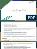 Tesco Group food