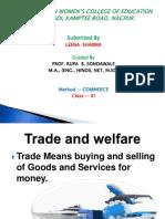TRADE TRANSPORT- commerce subject ppt- gita mahavidyalaya format