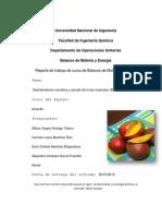Proyecto de curso deshidratacion osmotica mango