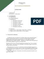 Tema 2 de la asignatura de Prehistoria I (USAL)