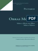 22. Plutarco - Obras Morais - Sobre o Afecto aos Filhos e Sobre a música.pdf