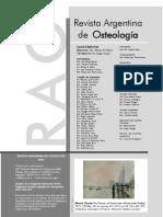 Revista Argentina de Osteologia