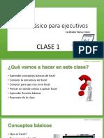 Clase 1 Excel básico