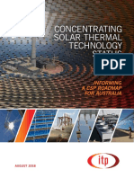 Concentrating Solar Thermal Plant Technology (CSP)
