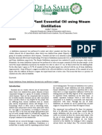 BC-CHM_131_Formal_Report_Isolation of plant essential oil