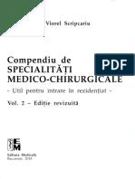 Compendiu de Specialitati Medico-Chirurgicale - Vol 2_editia revizuita