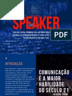 Speaker - A arte de Falar em Público