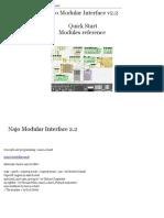 Najo Modular Interface Quick Start