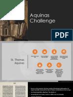 Aquinas challenge