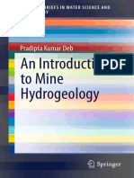 &_40;SpringerBriefs in Water Science and Technology&_41; Pradipta Kumar Deb &_40;auth.&_41;-An Introduction to Mine Hydrogeology-Springer International Publishing &_40;2014&_41;