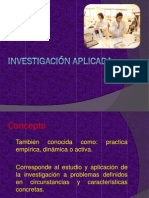 Investigación aplicada