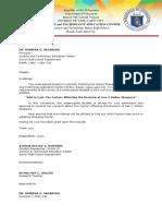 transmittal letter sample