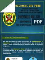 TOMA DE INVENTARIO PNP