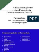 Farmacologia em urgência e emergência