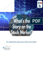 What is the story on the stock market