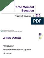 Three-Moment-Equation