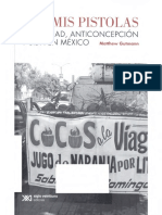 Matthew Guttmann, Por mis pistolas Sexualidad, Anticoncepción y Sida en México