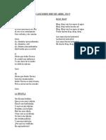 CANCIONES MES DE ABRIL 2019.docx
