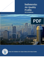 Indonesia Air Quality Profile - 2010 Edition