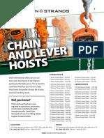 Vitali Chain Block & Lever Block