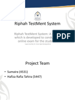 presentation of project