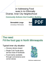 Building Food Security in Ethnic Neighborhoods.