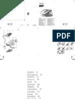 Manual Statie de Calcat Philips Compact