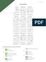 Calendario 2020 para Imprimir - Calendarr