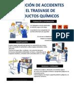 prevencion de accidentes en el trasvase de productos quimicos
