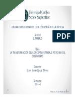 LA TRANSFORMACIÓN DEL CONCEPTO DE TRABAJO POR OBRA DEL CRISTIANISMO.pdf