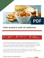 Cómo Preparar Paté de Mejillones - Conservas Albo