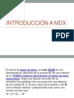 INTRODUCCIÓN A MDX