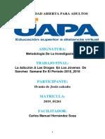 TRABAJO FINAL DE  INVESTIGACION DE LA METODOLOGÍA 1..docx