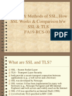 Methods and Systems of SSL