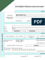 formulario de RNC