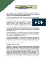 Transmissão - operação topológica, operação suja - Maria Lúcia Homem