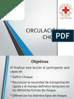 CIRCULACIÓN  Y CHOQUE