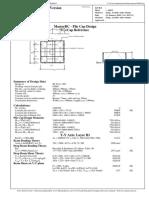 4PileCapDesign - Bending Theory Method.pdf