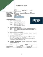 Complete CV (CCIU)