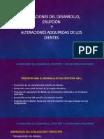 3 ALTERACIONES DEL DESARROLLO DE DIENTES Y TEJIDOS CONEXOS-2