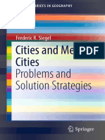 Cities and Mega-Cities